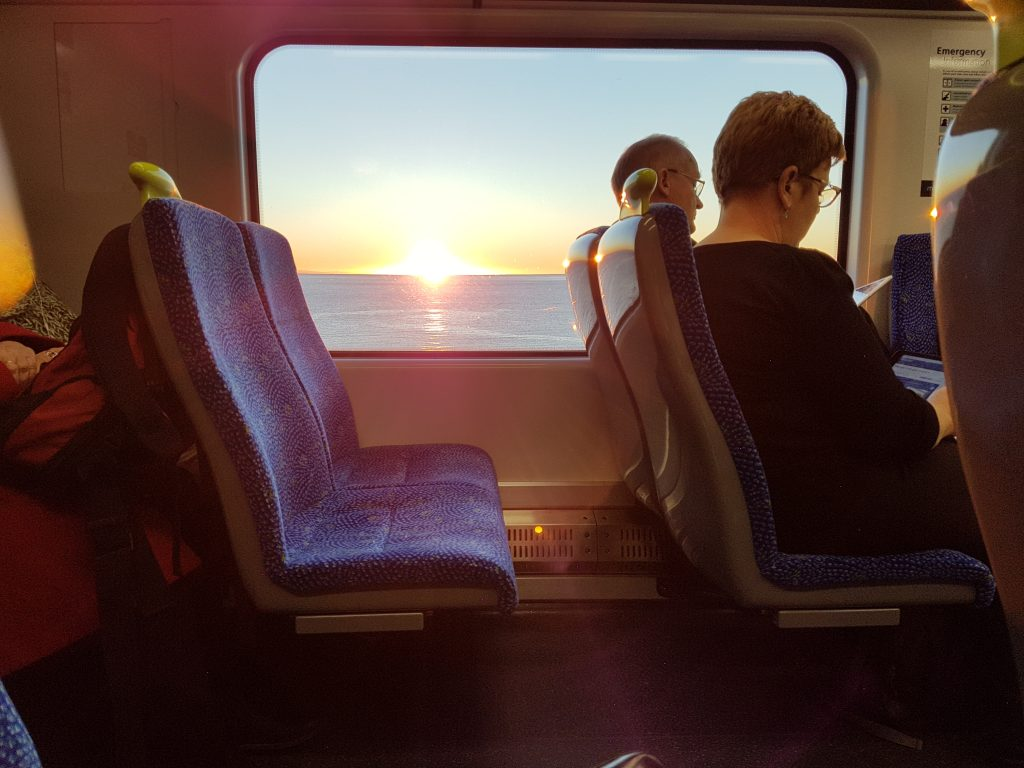 Wellington to Kapiti Train Ride