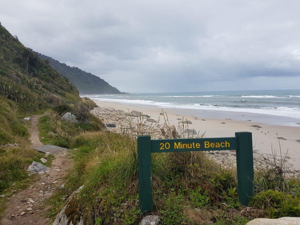 Heaphy Track 20 Minute Beach