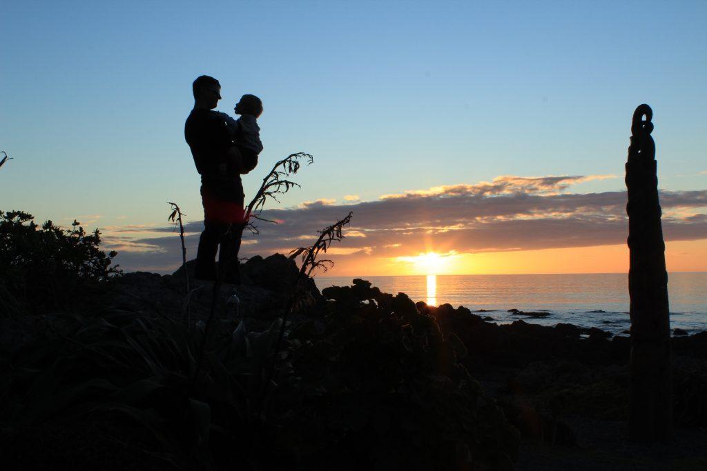 Pukerua Bay Father and Son