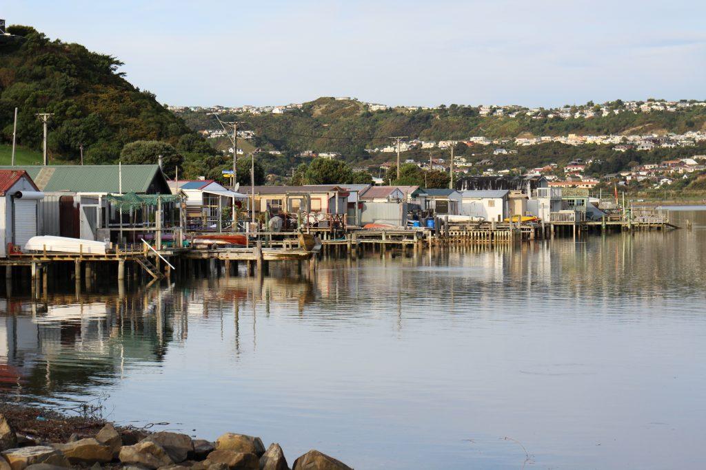 Titahi Bay Boat Sheds