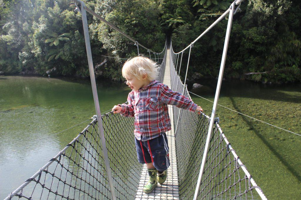 Jack and the Swing Bridge