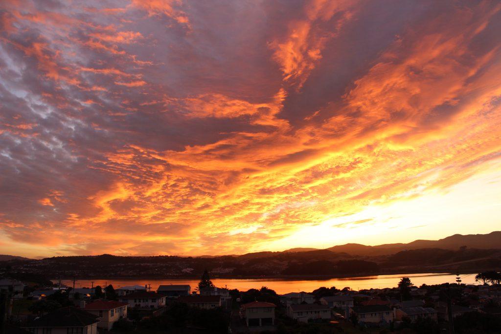 Titahi Bay Blazing Sky